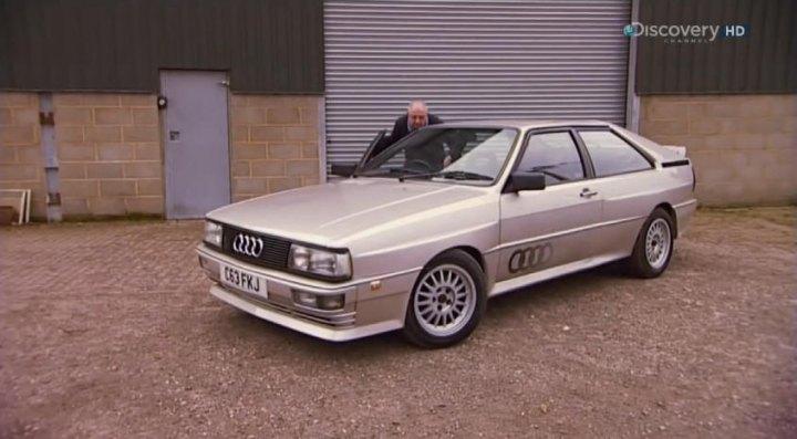 imcdb org 1986 audi quattro b2 typ 85q in wheeler dealers 2003