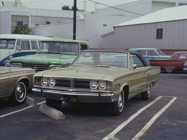Imcdb Org 1966 Dodge Coronet 500 Two Door Hardtop In