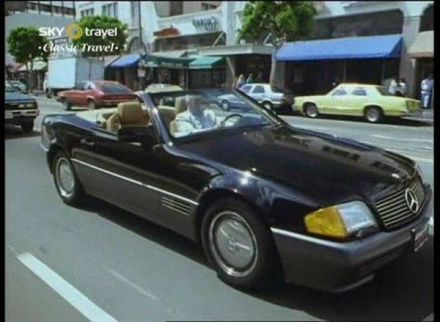 1990 mercedes benz 500 sl r129 in clive james postcard from los angeles 1990. Black Bedroom Furniture Sets. Home Design Ideas