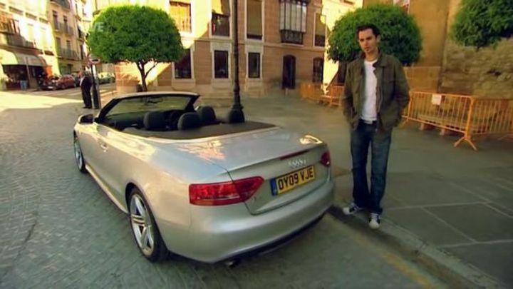 2009 Audi A5 Cabriolet 2.0 TFSI S line B8 [Typ 8T]