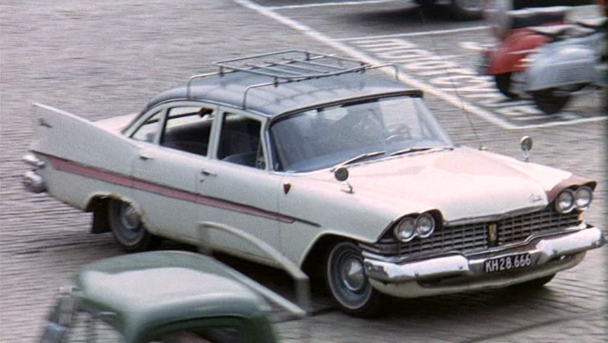 1959 Plymouth Belvedere 4-door Sedan