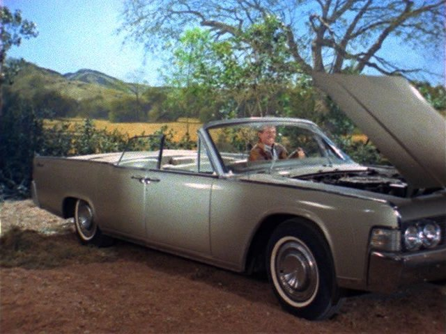 1965 Lincoln Continental Convertible [74A]