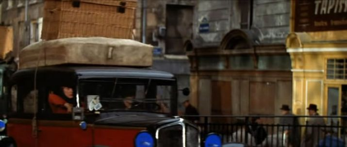 1933 renault taxi g7 type kz11 in the four horsemen of the apocalypse 1962. Black Bedroom Furniture Sets. Home Design Ideas