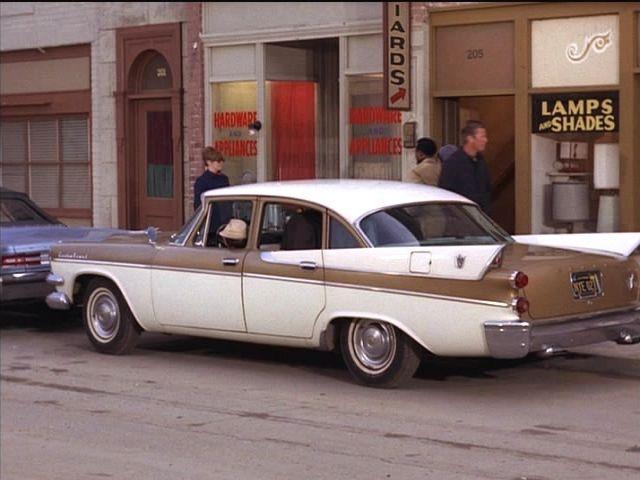 IMCDb.org: 1957 Dodge Custom Royal Four Door Sedan in ...  IMCDb.org: 1957...