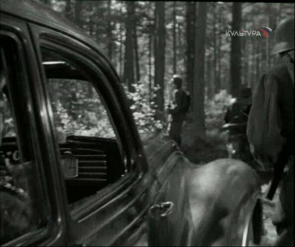 Imcdb 1939 Bmw 335 Limousine 4 Tren In Troe Vyshli Iz Lesa 1959