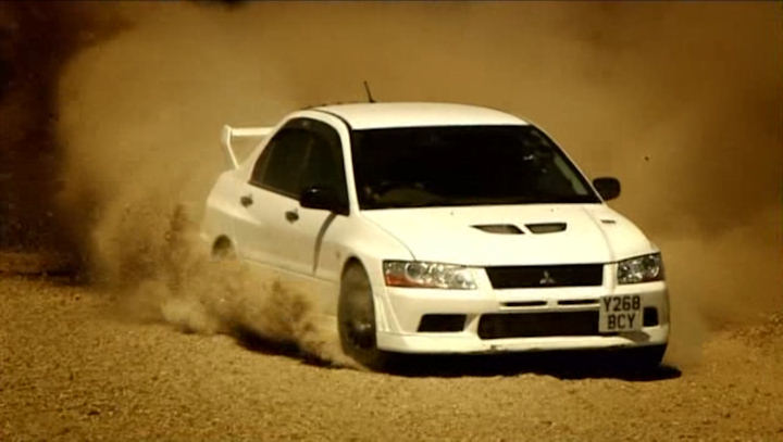 IMCDborg Mitsubishi Lancer Evolution VII RS CT9A in Top Gear