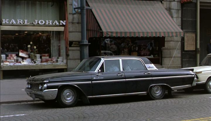 1961 Mercury Monterey Four-Door Sedan [54B]