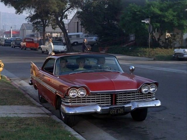 1959 Plymouth Fury 2-door Hardtop