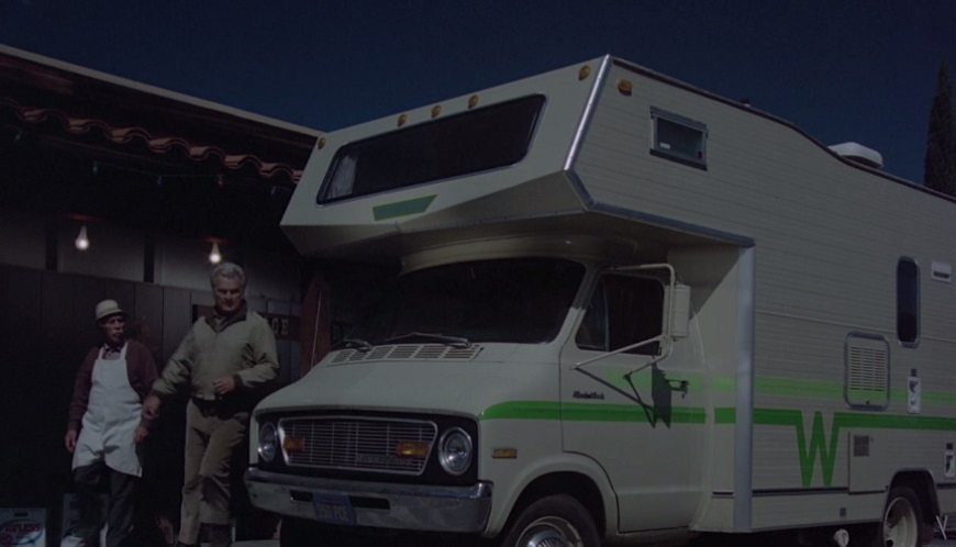 IMCDb org: 1974 Dodge Sportsman Winnebago Minnie Winnie [B-300] in