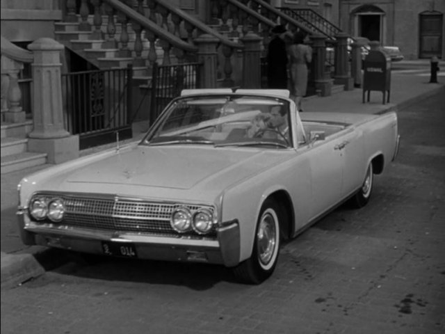 1963 lincoln continental four door convertible 74a in the twilight zone 1959 1964. Black Bedroom Furniture Sets. Home Design Ideas