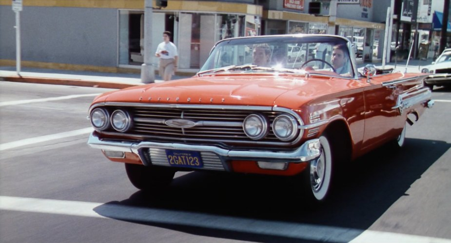 Imcdb Org 1960 Chevrolet Impala Convertible 1867 In Dead Heat 1988