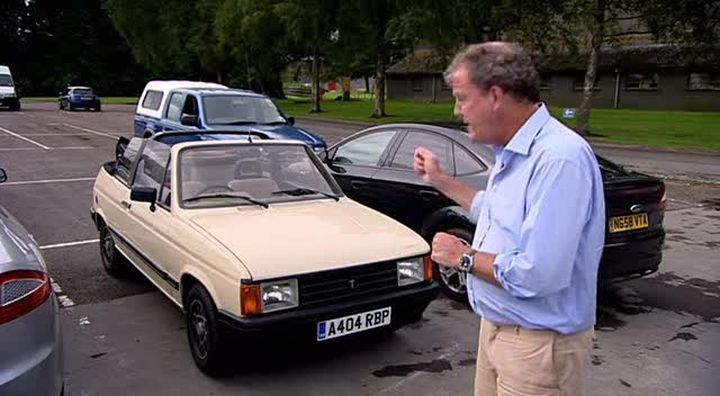 1984 talbot samba cabriolet t15 in clarkson duel 2009. Black Bedroom Furniture Sets. Home Design Ideas