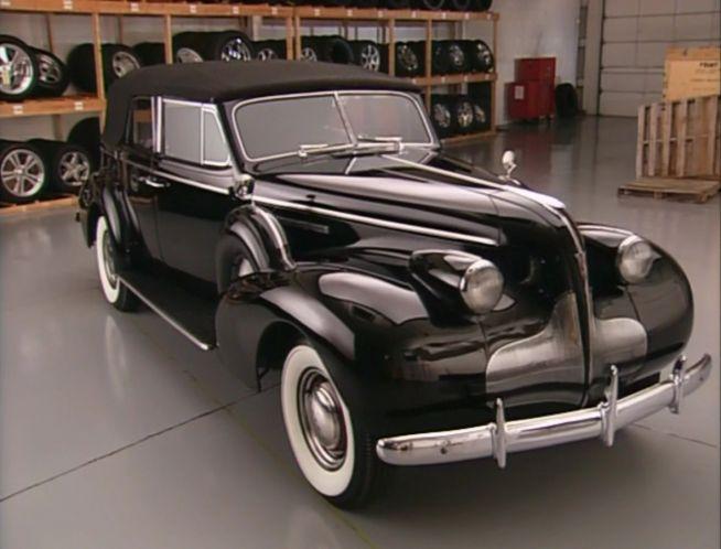 Imcdb 1939 Buick Roadmaster Convertible 81 C In Inside The