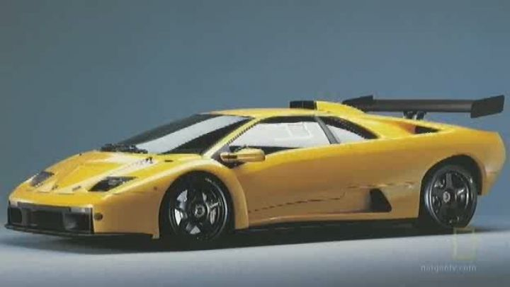 1999 Lamborghini Diablo Gtr. 1999 Lamborghini Diablo GTR
