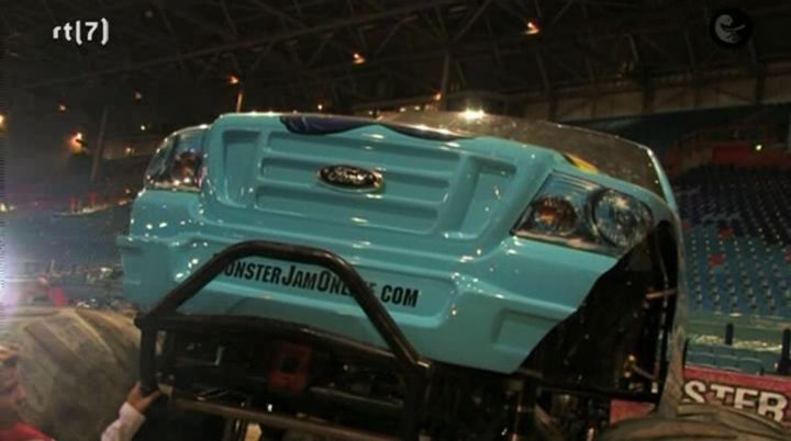 Custom Made Monster Truck bodied as Ford F-Series Super Duty