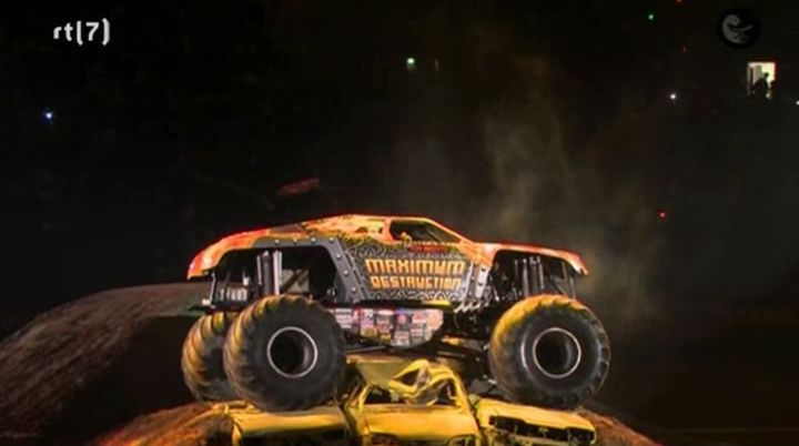 Custom Made Monster Truck 'Maximun Destruction'