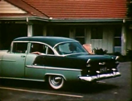 1955 chevrolet bel air four door sedan 2403 for 1955 chevy belair 4 door value