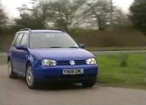 Volkswagen Golf 2001. 2001 Volkswagen Golf Variant