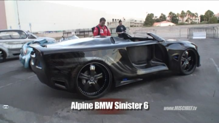 BMW 6 Custom by Alpine Audio [E63]