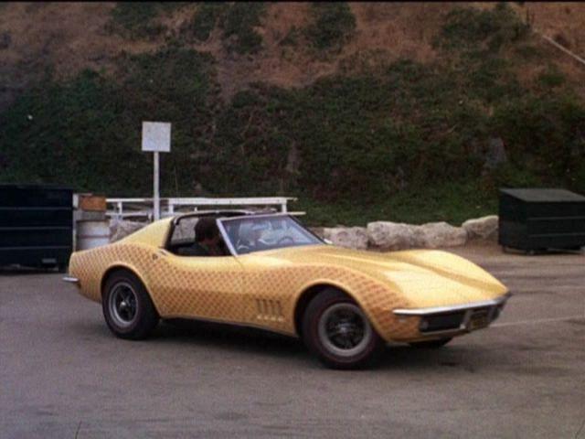Imcdb 1968 Chevrolet Corvette C3 In The Mod Squad 1968 1973