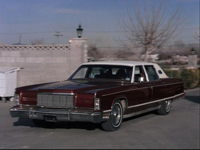 IMCDborg 1975 Lincoln Continental 53B in The Rockford Files