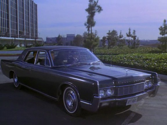 1967 Lincoln Continental Four-Door Sedan [53A]