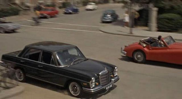 1968 mercedes benz 280 se w108 in the. Black Bedroom Furniture Sets. Home Design Ideas