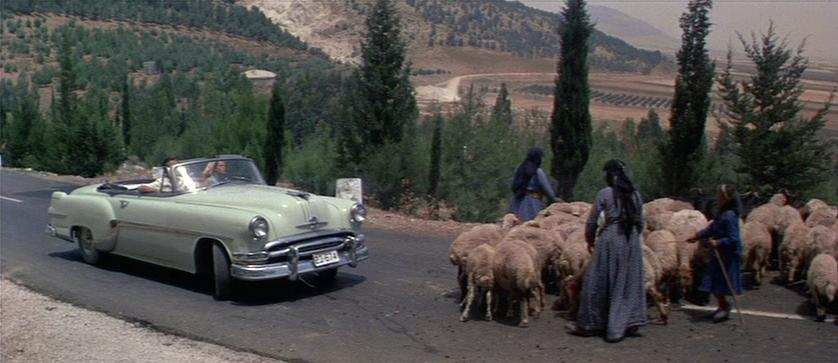 IMCDborg 1954 Pontiac Star Chief In Cast A Giant Shadow 1966