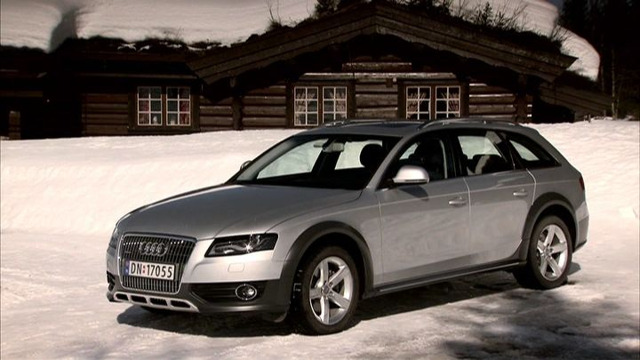 Imcdborg 2009 Audi A4 Allroad 20 Tdi Quattro B8 Typ 8k In