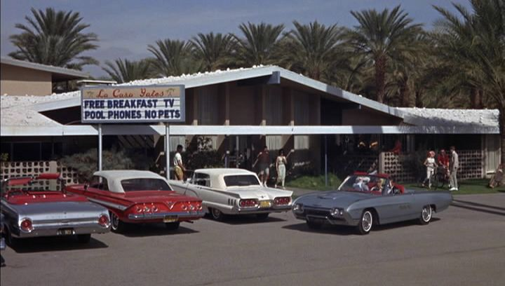 Palm Springs Ford >> Imcdb Org 1960 Ford Thunderbird Convertible 76a In Palm Springs