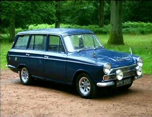 Imcdb Org Ford Cortina Gt Estate Mki In Classic Ford Cars