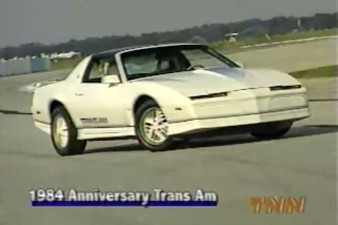 1984 Pontiac Firebird Trans Am 15th Anniversary Edition