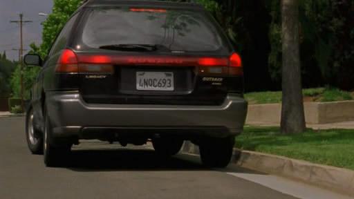 1996 Subaru Legacy Outback Wagon. 1996 Subaru Legacy Outback [BG