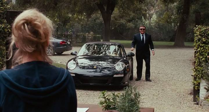 Alec Baldwin and a Porsche in It's Complicated Alec Baldwin