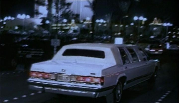 1988 Mercury Grand Marquis Stretched Limousine