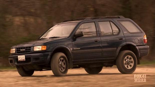 1998 isuzu rodeo ls in the good guys 2010. Black Bedroom Furniture Sets. Home Design Ideas