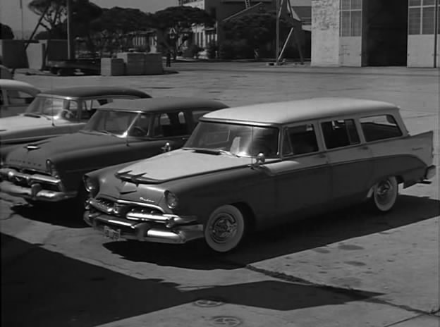 1956 Dodge Custom Sierra V8 Four-Door Station Wagon [D-63-3]