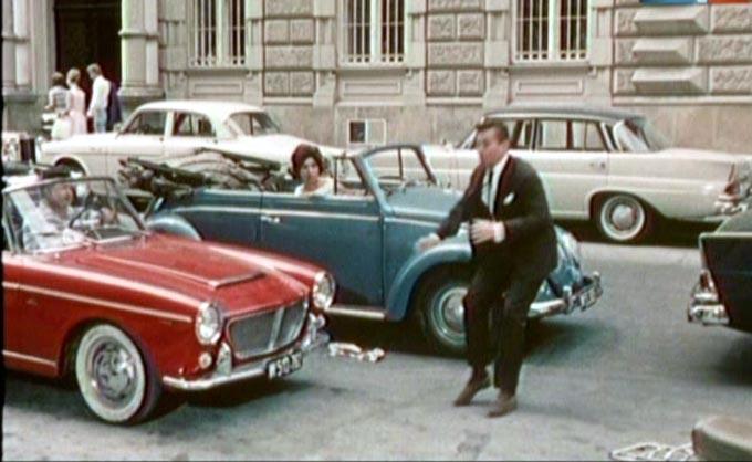 Imcdb Org 1960 Steyr Fiat 1200 Cabriolet 118g In