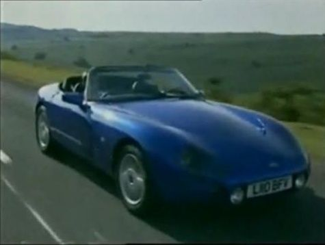 1993 tvr griffith in top gear 1978 2001. Black Bedroom Furniture Sets. Home Design Ideas