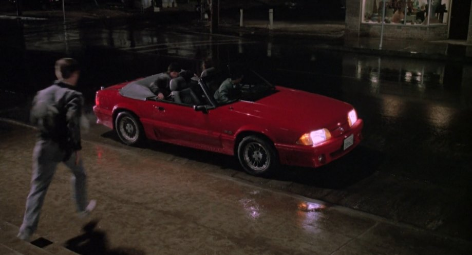 Imcdb Org Ford Mustang Gt In The Karate Kid Part Iii