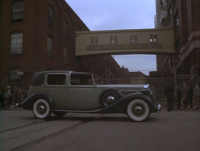 1935 Packard Twelve All Weather Town Car by LeBaron [1208]