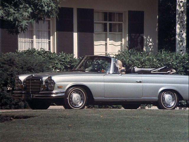 1968 Mercedes Benz 280 Se Convertible W111
