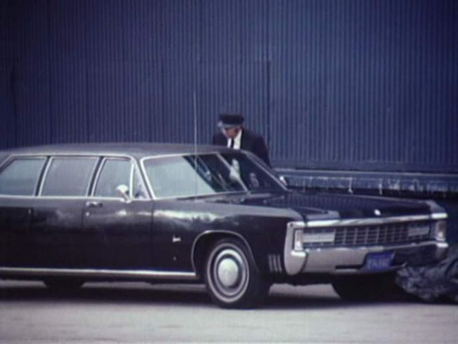 1969 Imperial LeBaron Limousine Armbruster/Stageway modified