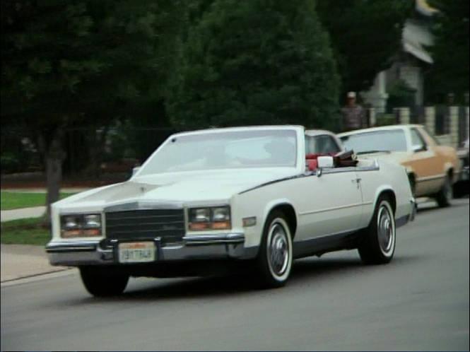 1984 Cadillac Eldorado Biarritz Convertible Asc