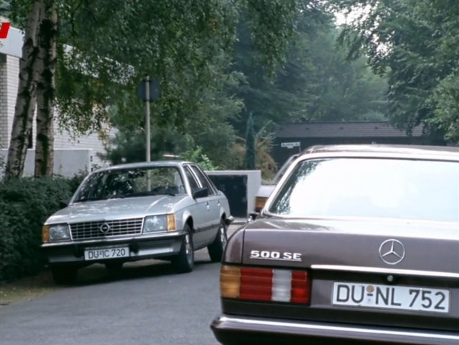 mercedes benz 500 se w126 in tatort. Black Bedroom Furniture Sets. Home Design Ideas
