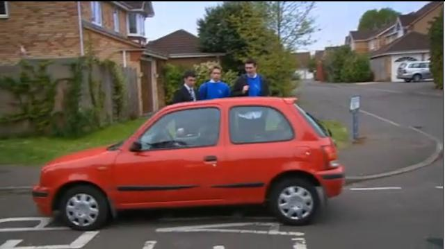 1998 nissan micra inspiration k11 in the inbetweeners 2008 2010. Black Bedroom Furniture Sets. Home Design Ideas