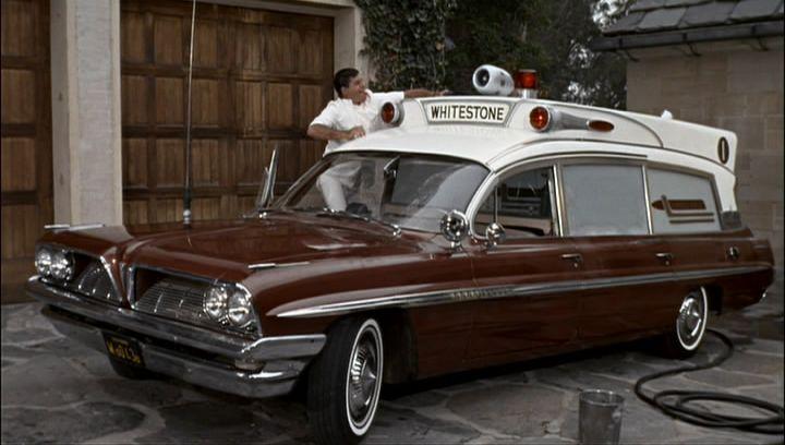 "Used Car Lot Near Me >> IMCDb.org: 1961 Pontiac Bonneville Ambulance Superior Criterion Super Headroom in ""The ..."