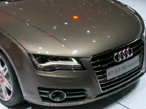 IMCDb.org: 2010 Audi A7 Sportback 3.0 TDI quattro [Typ 4G] in