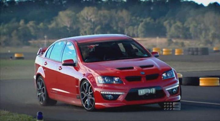 Imcdb 2010 Hsv Clubsport R8 Ve In Top Gear Australia 2008 2012