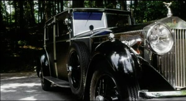 1929 Rolls-Royce Phantom II Weymann Sports Saloon by H.J.Mulliner